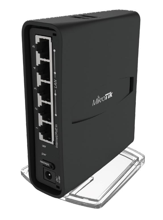 Mikrotik RBD52G-5HacD2HnD-TC , dual, 2,4/5GHz router hAP ac2 TowerCase