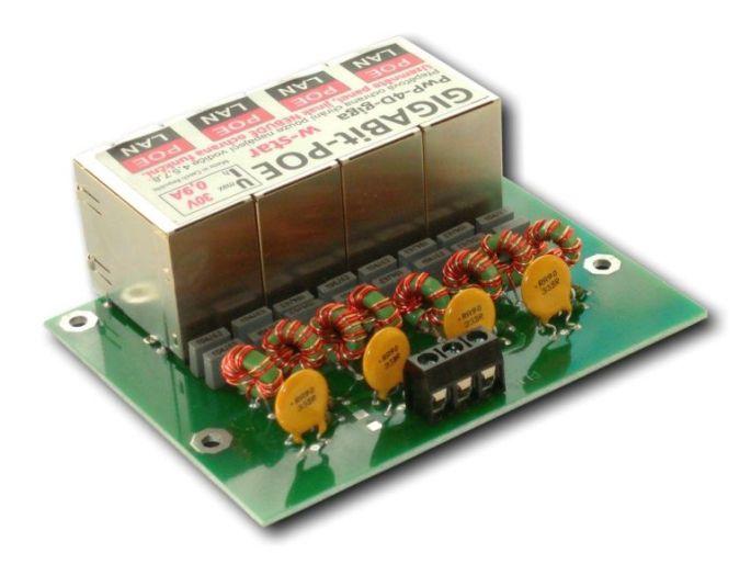 gigabit napájecí panel